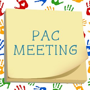 First PAC Meeting of the School Year