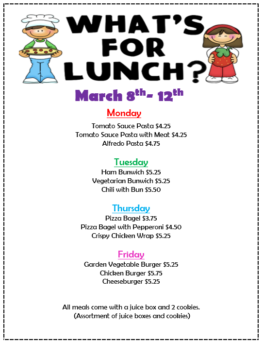 Whats for Lunch March 8-12.png