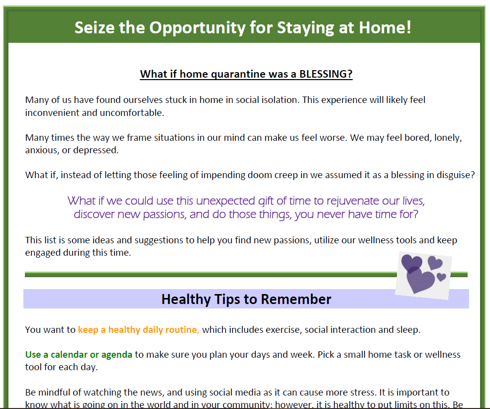Seize the Opportunity for Staying at Home.png